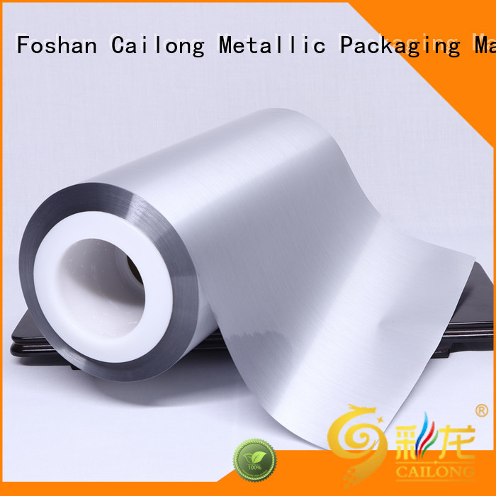 Cailong Good metallic gloss metalized film price for product