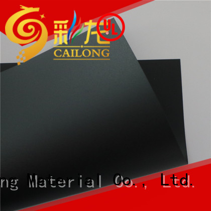 Cailong Transparent clear polycarbonate with many colors for medical equipment