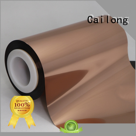 Cailong metallized Copper Metallized PET Film from China for medicine