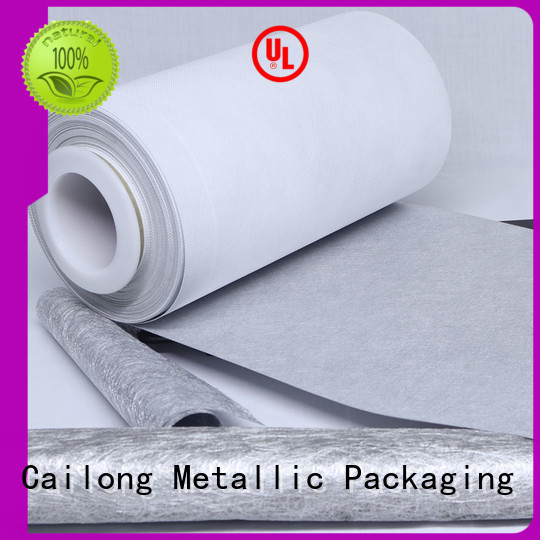 Cailong Multiple Aluminum reflective metalized film metallized used for printing