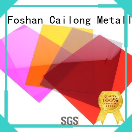 Transparent polyester film sheets with good price for medical equipment Cailong