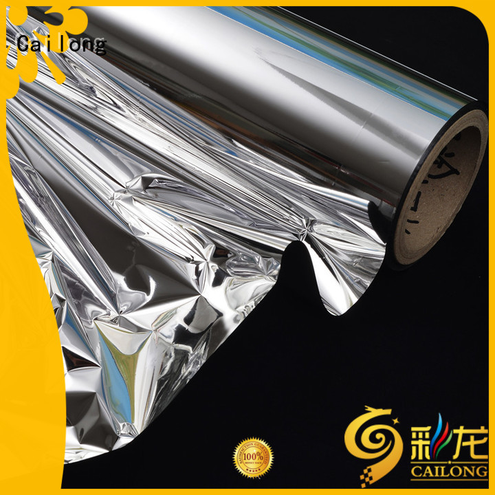 Cailong high-quality metallic polyester film from manufacturer used for medicine