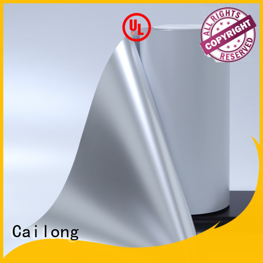 metalized pet film double for product Cailong