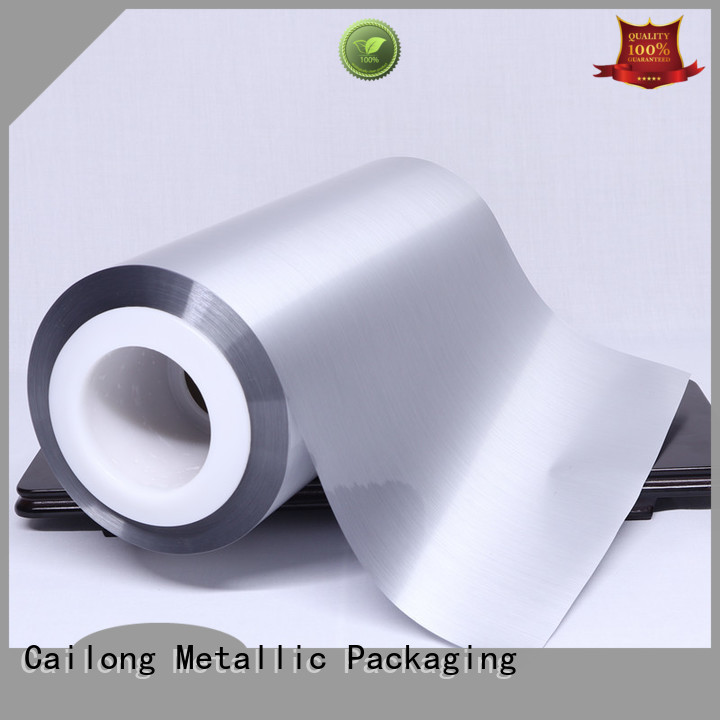 Cailong yarn metalized polypropylene film for-sale for shopping bags