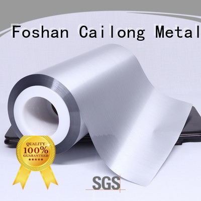 Cailong pet metalized foil type for meat