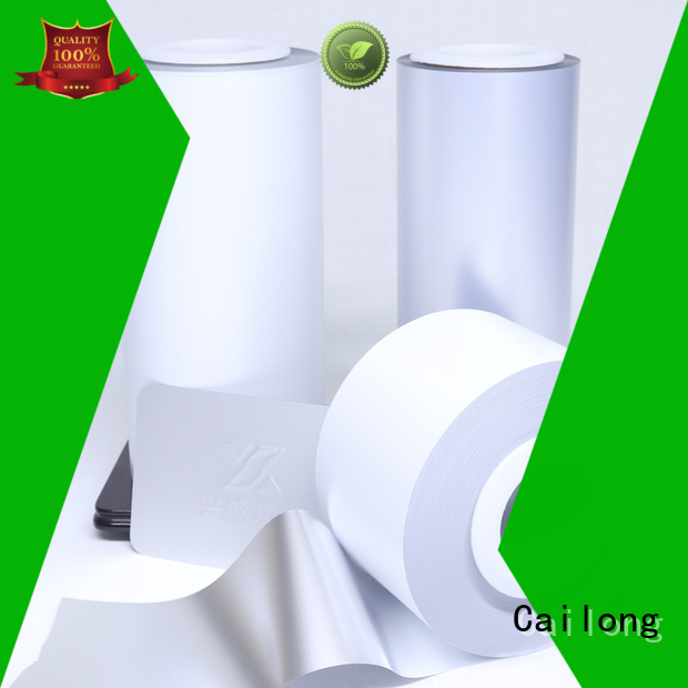 Cailong environmental colored mylar rolls supplier for cosmestics