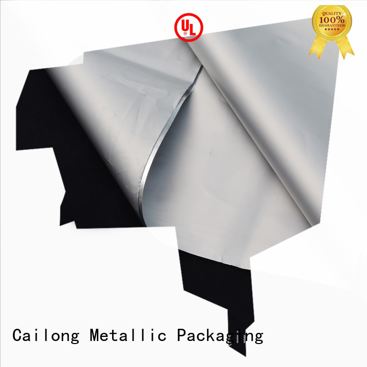 Cailong metallized metalized plastic buy now for advertising