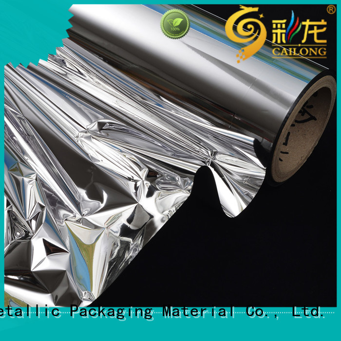 metallic polyester film bopp for Decorative Cailong