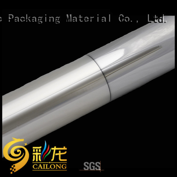 Cailong half metalized polyester supplier for product